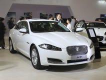 De auto van Jaguar xf royalty-vrije stock afbeelding