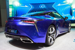 2018 de auto van Lexus LC 500h Royalty-vrije Stock Afbeelding