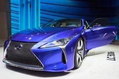 De auto van Lexus LC 500h Stock Afbeeldingen