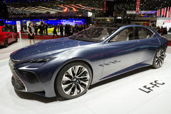 2017 de auto van Lexus LF-LC Royalty-vrije Stock Afbeeldingen