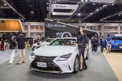 De auto van Lexus RC200t bij de Internationale Motor Expo 2016 van Thailand Royalty-vrije Stock Afbeeldingen