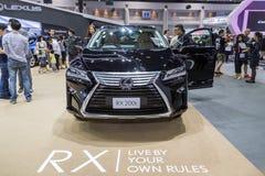 De auto van Lexus RX200t bij de Internationale Motor Expo 2016 van Thailand Royalty-vrije Stock Afbeelding