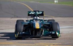 De auto van Lotus f1 Royalty-vrije Stock Foto
