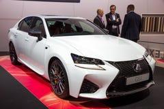 De auto van de de luxesedan van Lexus GSF Royalty-vrije Stock Fotografie