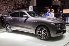 2017 de auto van Maserati Levante Stock Foto's