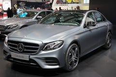 2015 de auto van Mercedes-Benz E400 4MATIC Stock Foto's