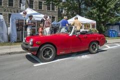 De auto van MG MGB Royalty-vrije Stock Afbeeldingen