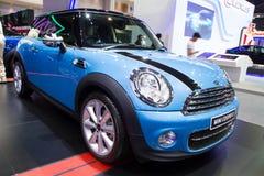 De Auto van Mini Coper D op de Internationale Motor Expo van Thailand Stock Afbeeldingen