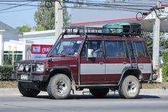 De Auto van Mitsubishi Pajero Suv Royalty-vrije Stock Fotografie