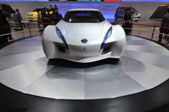 De auto van Nissan esflow Stock Afbeeldingen