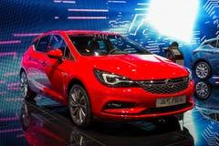 2016 de auto van Opel Astra Stock Afbeelding