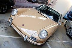 De auto van Porsche op vertoning Royalty-vrije Stock Afbeelding