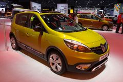 De auto van Renault Scénic XMod Royalty-vrije Stock Fotografie
