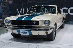 De auto van Shelby GT350 van Ford Mustang 1966 op vertoning bij La Autosho Royalty-vrije Stock Afbeelding