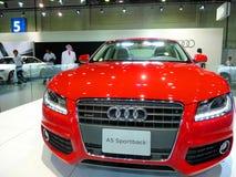 De Auto van Sportsback van Audi Royalty-vrije Stock Afbeeldingen