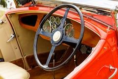 De Auto van Vinatgerailton Stock Foto's