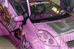 De Auto van Xtreme Stock Afbeeldingen