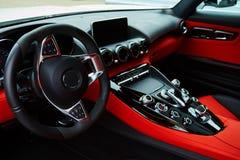 De autobinnenland van de luxe stock fotografie