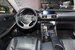 De autobinnenland van Lexus IS300h Royalty-vrije Stock Afbeelding