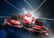 De autoconcept van Formule 1 vector illustratie