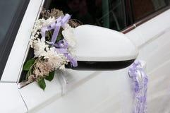 De autodecoratie van het huwelijk Stock Afbeeldingen