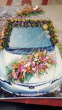 De autodecoratie van het huwelijk Royalty-vrije Stock Afbeeldingen