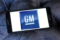De autoembleem van GM General Motors Stock Fotografie