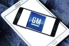 De autoembleem van GM General Motors Royalty-vrije Stock Afbeelding