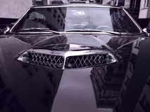 De Autokap en Hood Scoops van Pontiac GTO 1965 Royalty-vrije Stock Foto