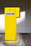 De automaat van het kaartje royalty-vrije stock foto