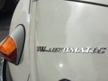 De Automatische klassieke auto van VW Royalty-vrije Stock Fotografie
