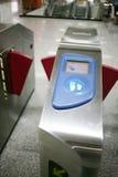 De automatische machine van de kaartjescontrole Stock Afbeelding