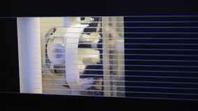 De automatische Machine van het Proces Tandmalen stock videobeelden