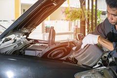 De de automobielindustriedienst stock afbeelding