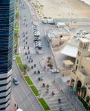 De automobilisten stellen in Ajman tentoon Stock Afbeelding