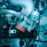 De automotor van een auto van de industrie Stock Foto's