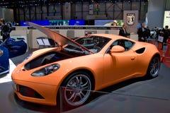 De autosalon 2009 Artega van Genève Stock Afbeeldingen