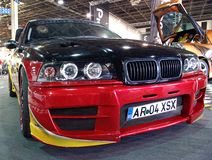 De autovoorzijde van BMW Royalty-vrije Stock Afbeeldingen