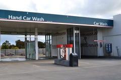 De autowasseretteposten van de hand Royalty-vrije Stock Fotografie