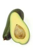 De avocado bedriegt osso Stock Foto