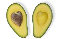 De Avocado van de liefde royalty-vrije stock afbeelding
