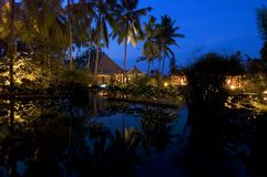 De Avond van Bali Royalty-vrije Stock Foto