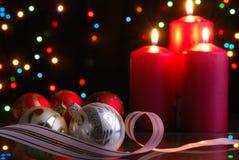 De avond van Kerstmis Stock Afbeelding