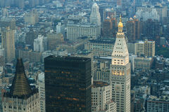 De avond van New York Royalty-vrije Stock Foto's