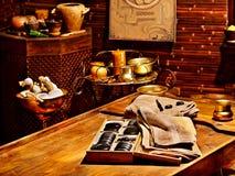 De Ayurvedic del balneario todavía del masaje vida Fotografía de archivo libre de regalías