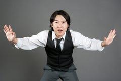 De Aziatische Mannelijke Danser van de Jazz Royalty-vrije Stock Afbeelding