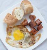 De Aziatische schotel van het ochtendvoedsel Stock Fotografie