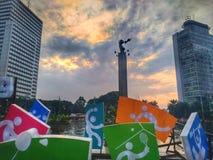 De Aziatische Spelen van Patungselamat Datang royalty-vrije stock foto's