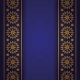 De Aziatische stijl van de kunstelegantie voor dekkingsontwerp Royalty-vrije Stock Afbeelding