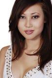 De Aziatische vrouw van Beautuful Stock Foto's